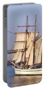 Tall Ship Three Portable Battery Charger