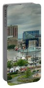 Tall Ships At Baltimore Inner Harbor Portable Battery Charger