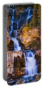 Tangle Falls At Dusk, Jasper National Portable Battery Charger