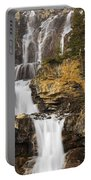 Tangle Falls, Jasper National Park Portable Battery Charger