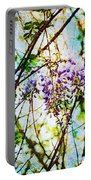 Tangled Wisteria Portable Battery Charger