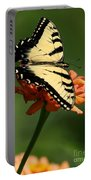 Tantalizing Tiger Swallowtail Butterfly Portable Battery Charger