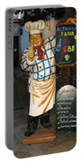 Tapas Man In Spain Portable Battery Charger