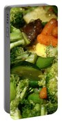 Tasty Veggie Stir Fry Portable Battery Charger
