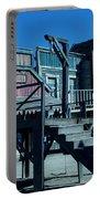 Taverna Western Village In Spain Portable Battery Charger by Colette V Hera  Guggenheim
