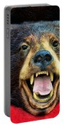 Taxidermy -  Black Bear Portable Battery Charger