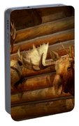 Taxidermy - The Hunting Lodge  Portable Battery Charger