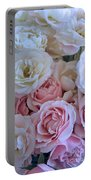 Tea Time Roses Portable Battery Charger