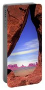 Teardrop Arch Monument Valley Portable Battery Charger