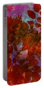 Tears Of Leaf  Portable Battery Charger by Empty Wall