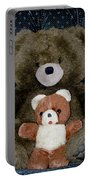 Teddy Elder Care Bear Portable Battery Charger