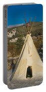 Teepee In The Snow 2 Portable Battery Charger