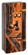 Telephone - Antique Hand Cranked Phone Portable Battery Charger