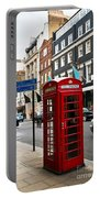 Telephone Box In London Portable Battery Charger