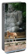 Temple Dog And Buddha Portable Battery Charger