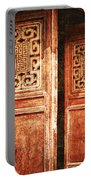 Temple Door Portable Battery Charger by Skip Nall
