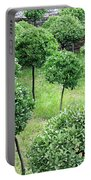 Temple Garden Trees Portable Battery Charger