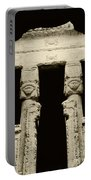 Temple Of Hathor Portable Battery Charger