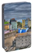 Tenby Harbour In Summer 2 Portable Battery Charger