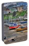 Tenby Harbour In Summer 3 Portable Battery Charger