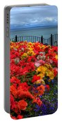 Tenby In Bloom Portable Battery Charger