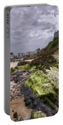 Tenby Rocks Painted Portable Battery Charger
