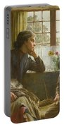 Tender Grace Of A Day That Is Dead Portable Battery Charger by Walter Langley