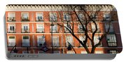 Tenement House Facade In Madrid Portable Battery Charger