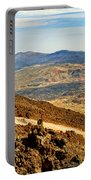 Tenerife Volcanic Landscape Portable Battery Charger
