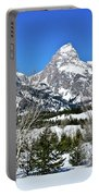 Teton Winter Landscape Portable Battery Charger