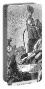 Texas Cattle Trail, 1874 Portable Battery Charger