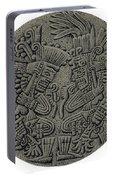 Tezcatlipoca And Huitzilopochtli Portable Battery Charger