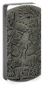 Tezcatlipoca And Huitzilopochtli Portable Battery Charger by Photo Researchers