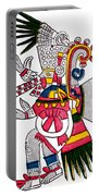 Tezcatlipoca, Aztec God Of Night, Codex Portable Battery Charger by Photo Researchers