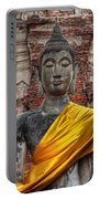 Thai Buddha Portable Battery Charger by Adrian Evans