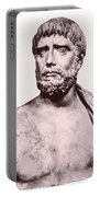 Thales, Ancient Greek Philosopher Portable Battery Charger by Photo Researchers