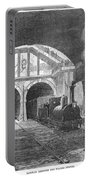 Thames Tunnel: Train, 1869 Portable Battery Charger