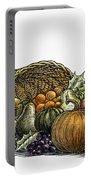 Thanksgiving: Cornucopia Portable Battery Charger