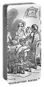Thanksgiving Dinner, 1850 Portable Battery Charger