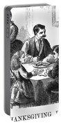 Thanksgiving Dinner, 1873 Portable Battery Charger