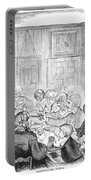 Thanskgiving Dinner, 1857 Portable Battery Charger