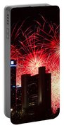 The 54th Annual Target Fireworks In Detroit Michigan - Version 2 Portable Battery Charger by Gordon Dean II