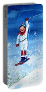 The Aerial Skier 15 Portable Battery Charger