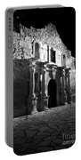 The Alamo At Night Portable Battery Charger
