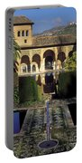 The Alhambra Palace Of The Partal Portable Battery Charger