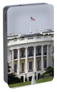 The American Flag Flies At Half-staff Portable Battery Charger