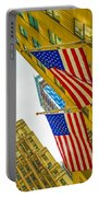 The American Flag Portable Battery Charger
