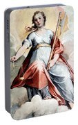 The Angel Of Justice Portable Battery Charger