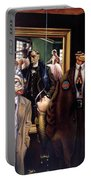The Art Critic Portable Battery Charger