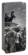 The Attack Of The Zombie Tourists Portable Battery Charger